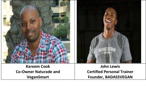 Kareem Cook and John Lewis