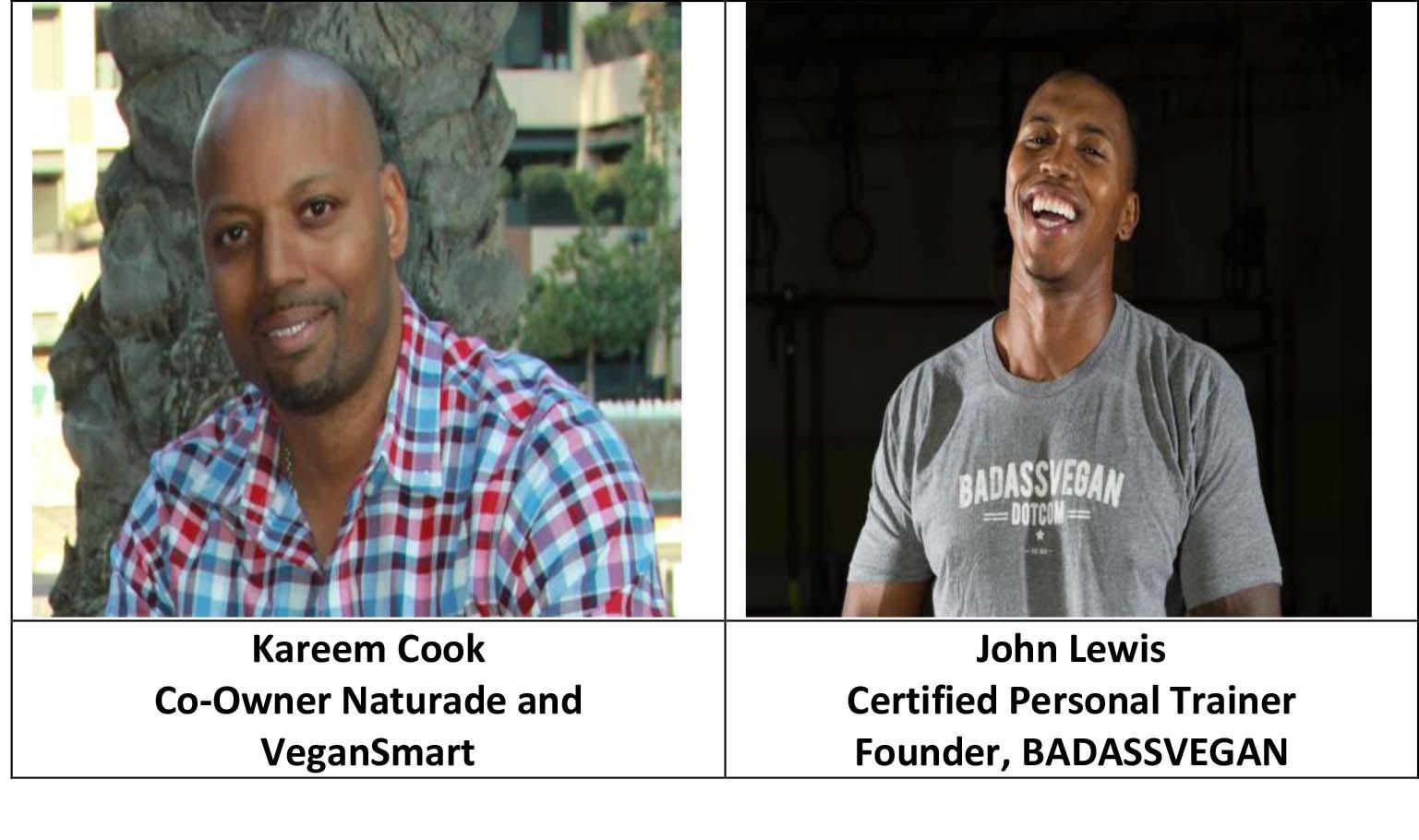 Kareem Cook and John Lewis