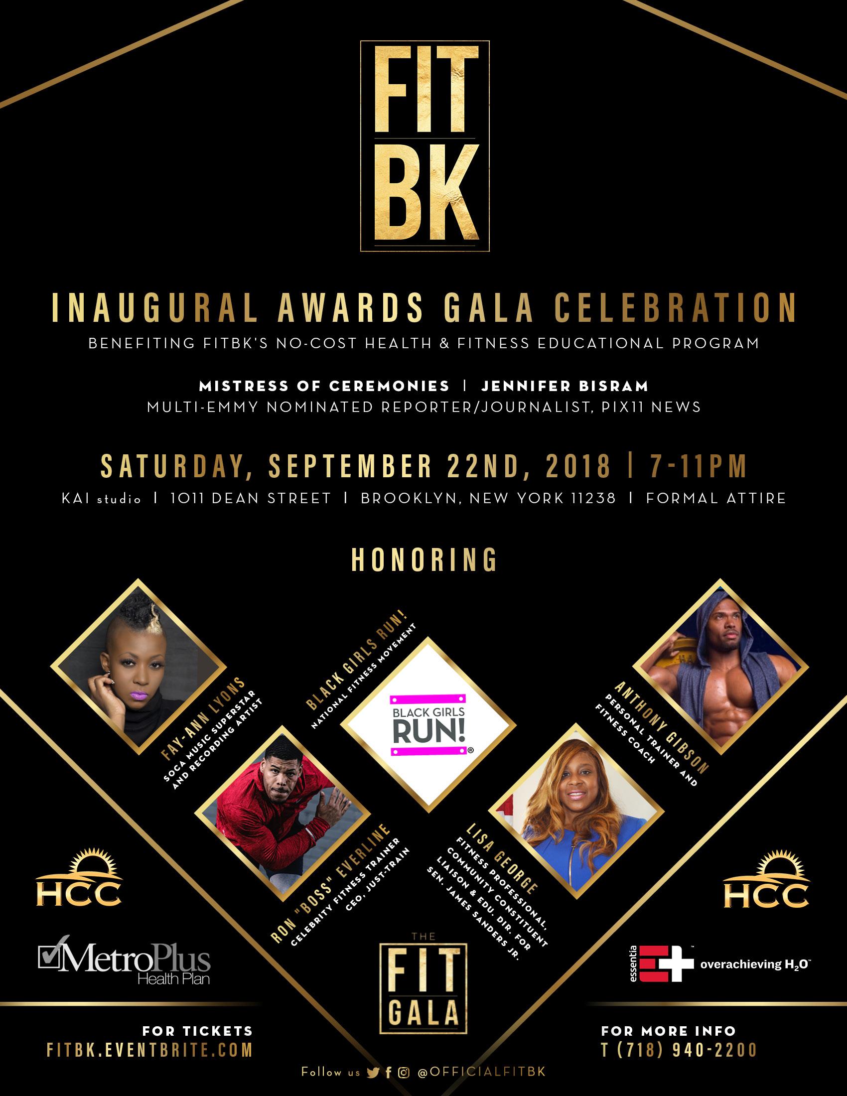Episode #121 FITBK Inaugural Awards Gala Celebration